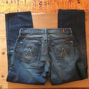 Seven 7 for all Mankind Men's Jeans A Pocket 32